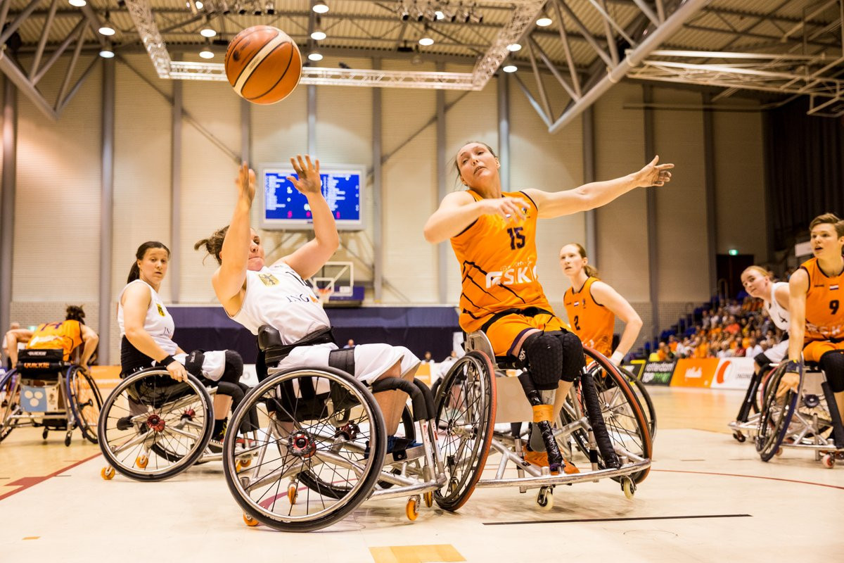 The Netherlands edged out Germany 55-51 to make it four wins out of four at the IWBF Women's European Championship Division A in Rotterdam ©Steffie Wunderl/IWBF/Twitter