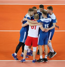Belarus beat Egypt in five sets as action began today at the 2019 FIVB Men's Challenger Cup in Ljubljana ©FIVB