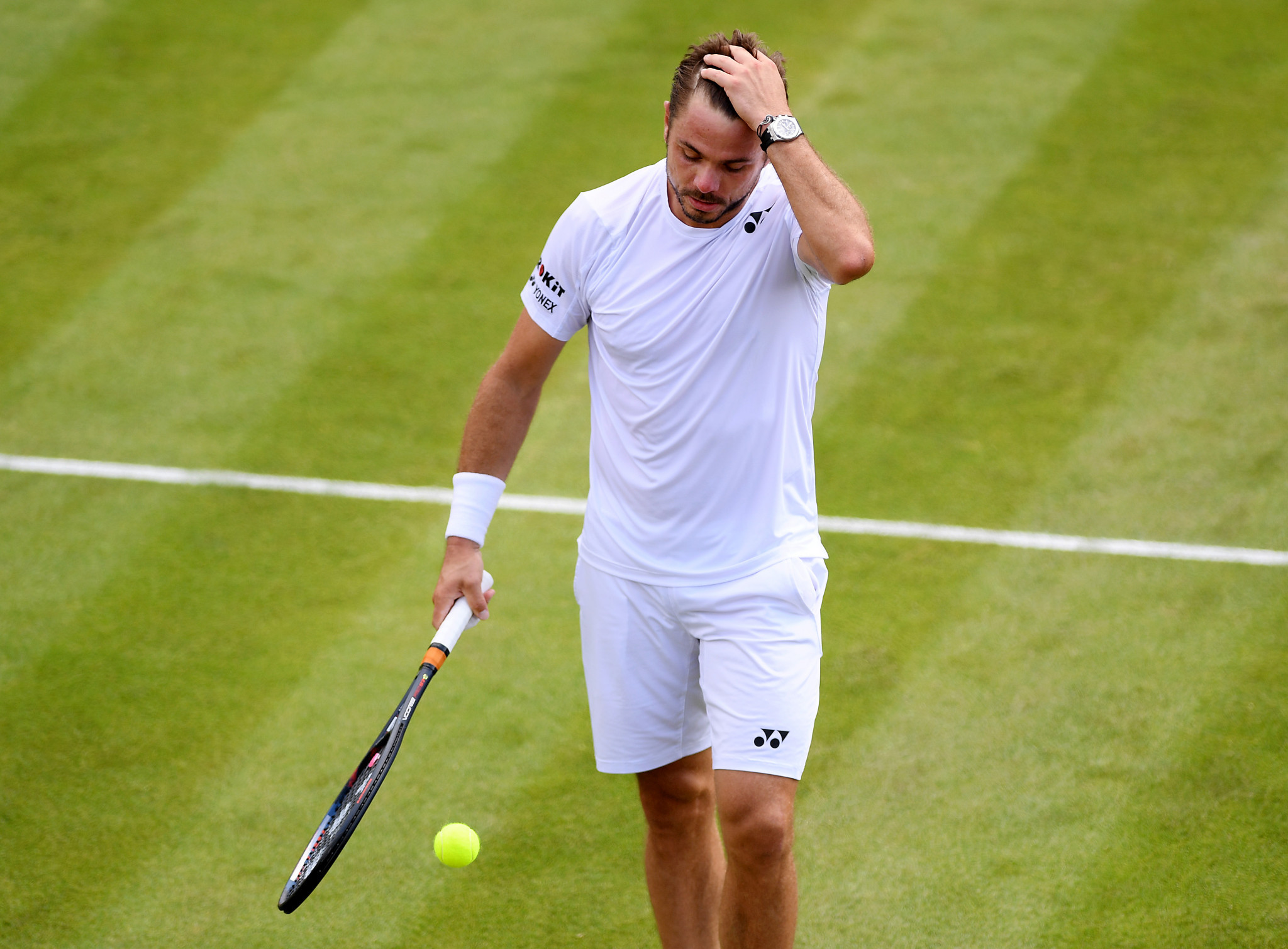 Stan Wawrinka's Wimbledon campaign is over ©Getty Images