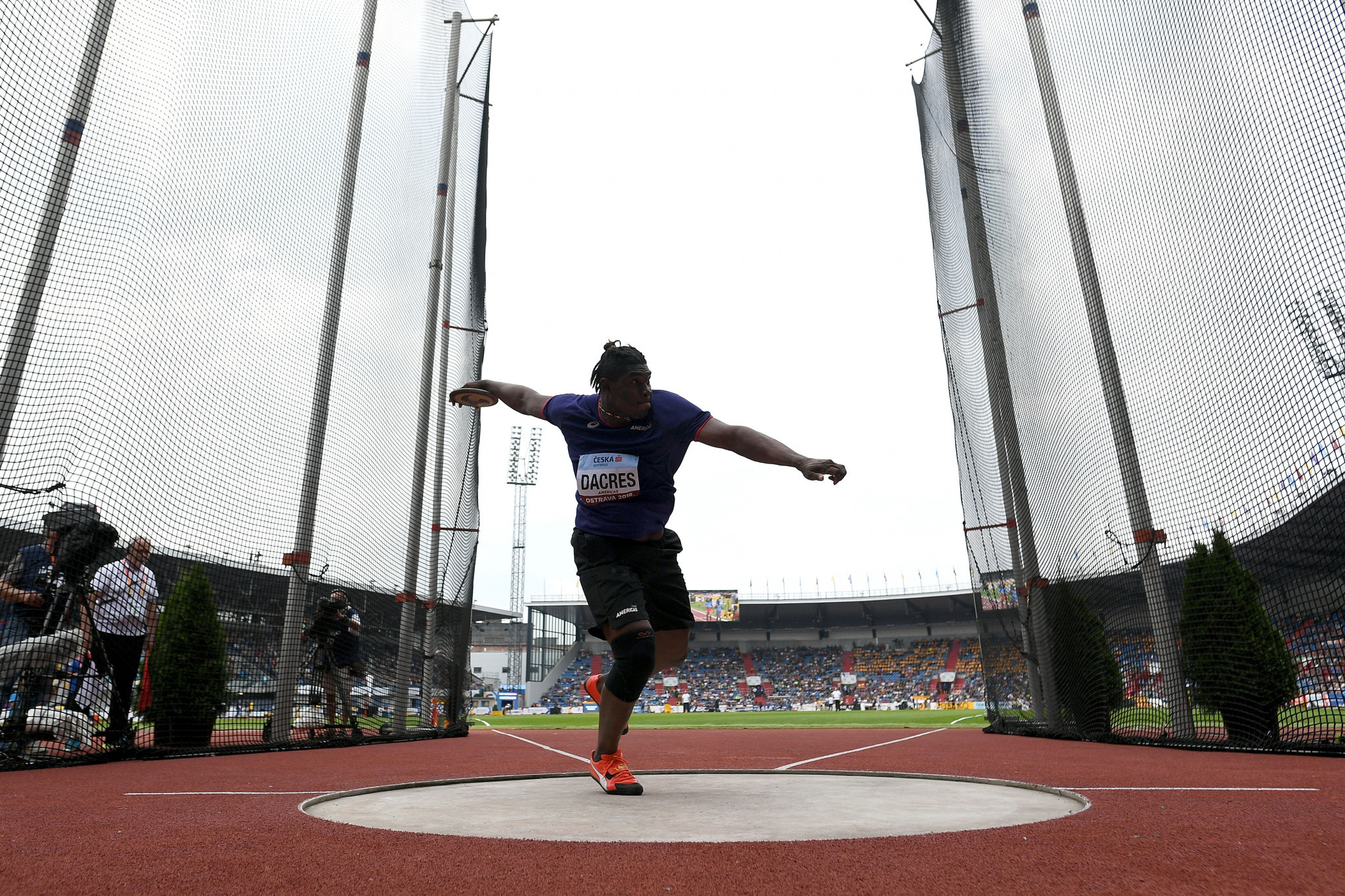 Fedrick Dacres will aim to defend his men's discus title ©Getty Images