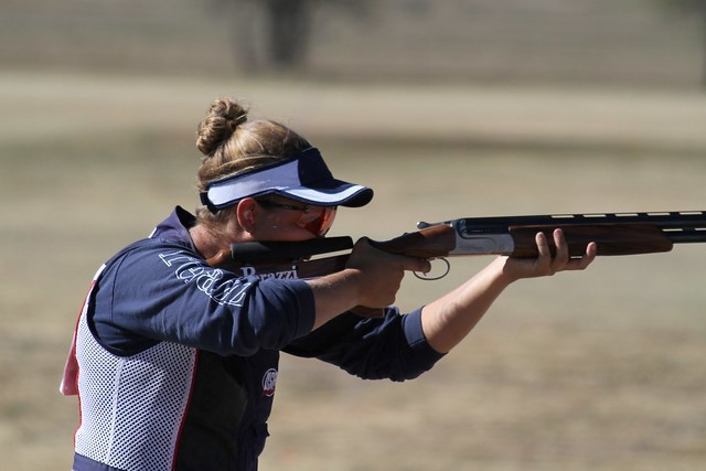 Carroll and Coward-Holley seal trap titles at ISSF World Shotgun Championship
