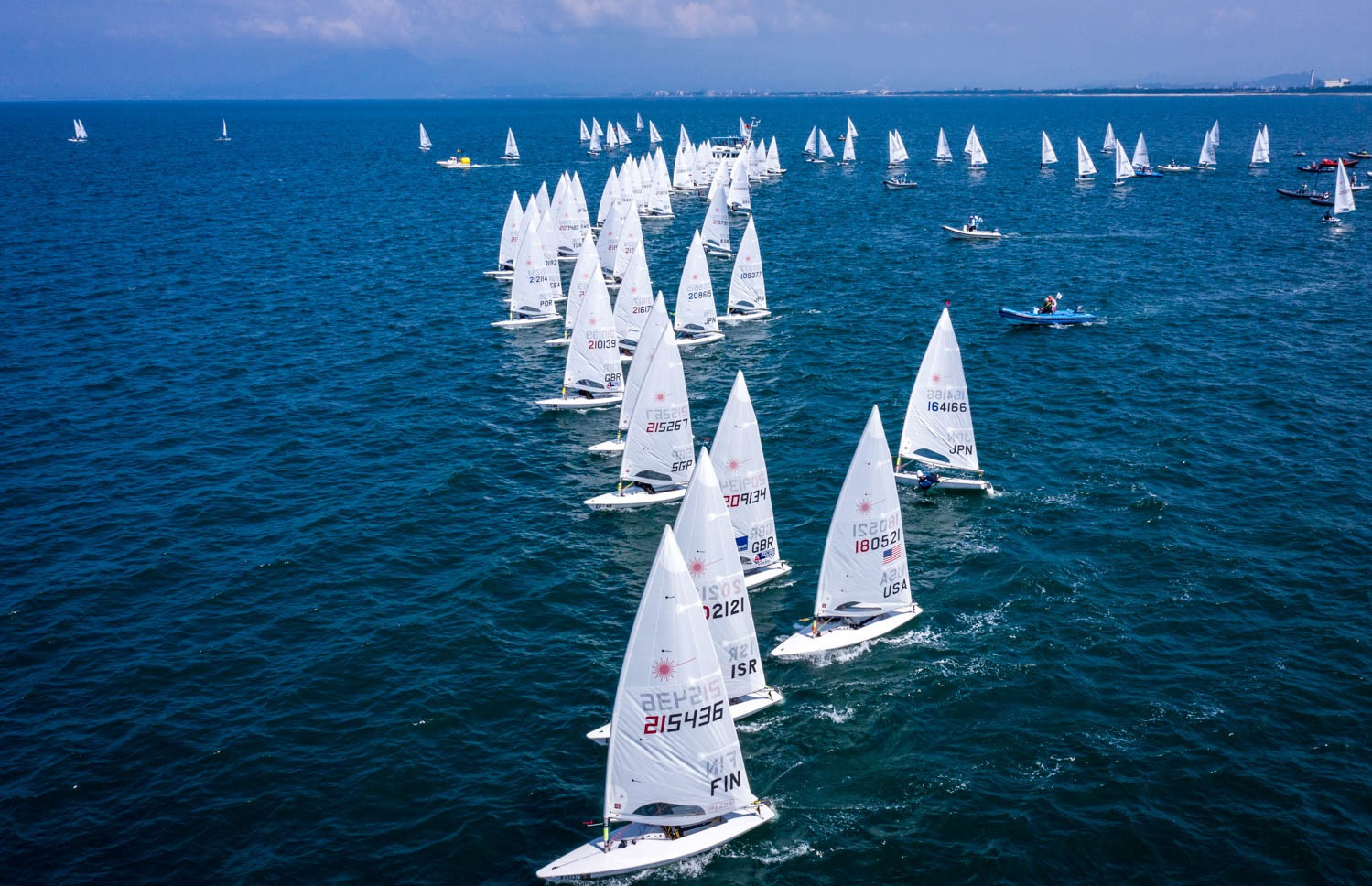 A total of 159 sailors from 57 countries are competing in the event ©Junichi Hirai/Bulkhead Magazine Japan