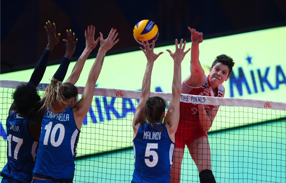 Turkey secured their place in the last four of the International Volleyball Federation Women's Nations League finals ©FIVB