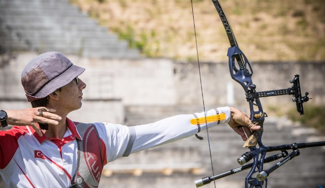 Bae and Gazoz to clash for men's recurve gold at Archery World Cup