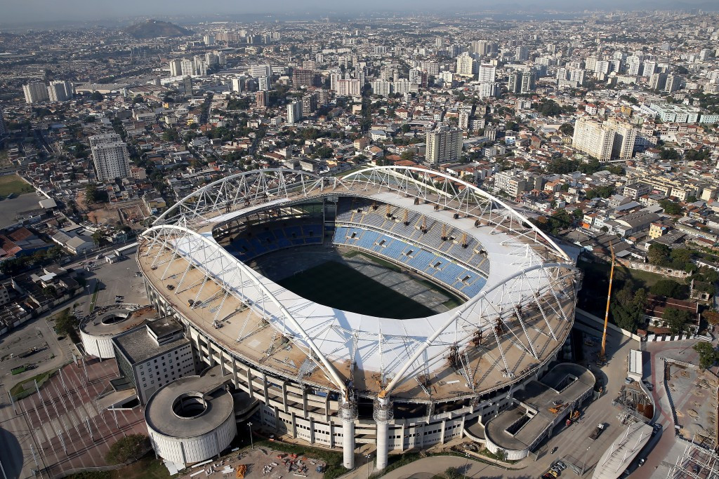 The Olympic Stadium will play host to the first Olympic football match of Rio 2016 ©Getty Images