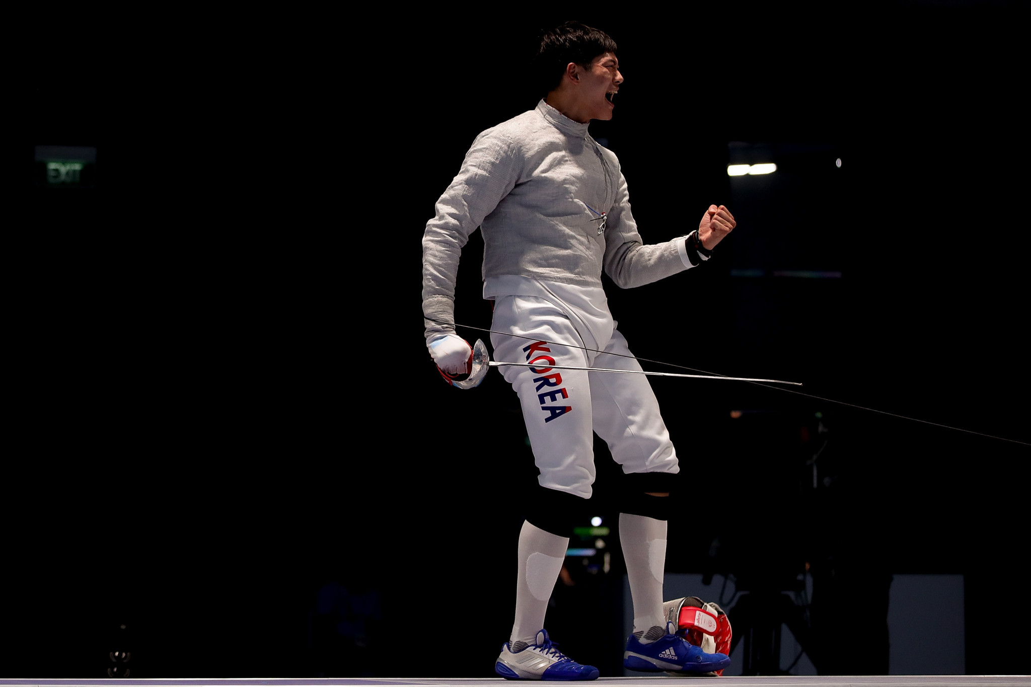 Asian champion Oh earns Universiade gold in men's sabre