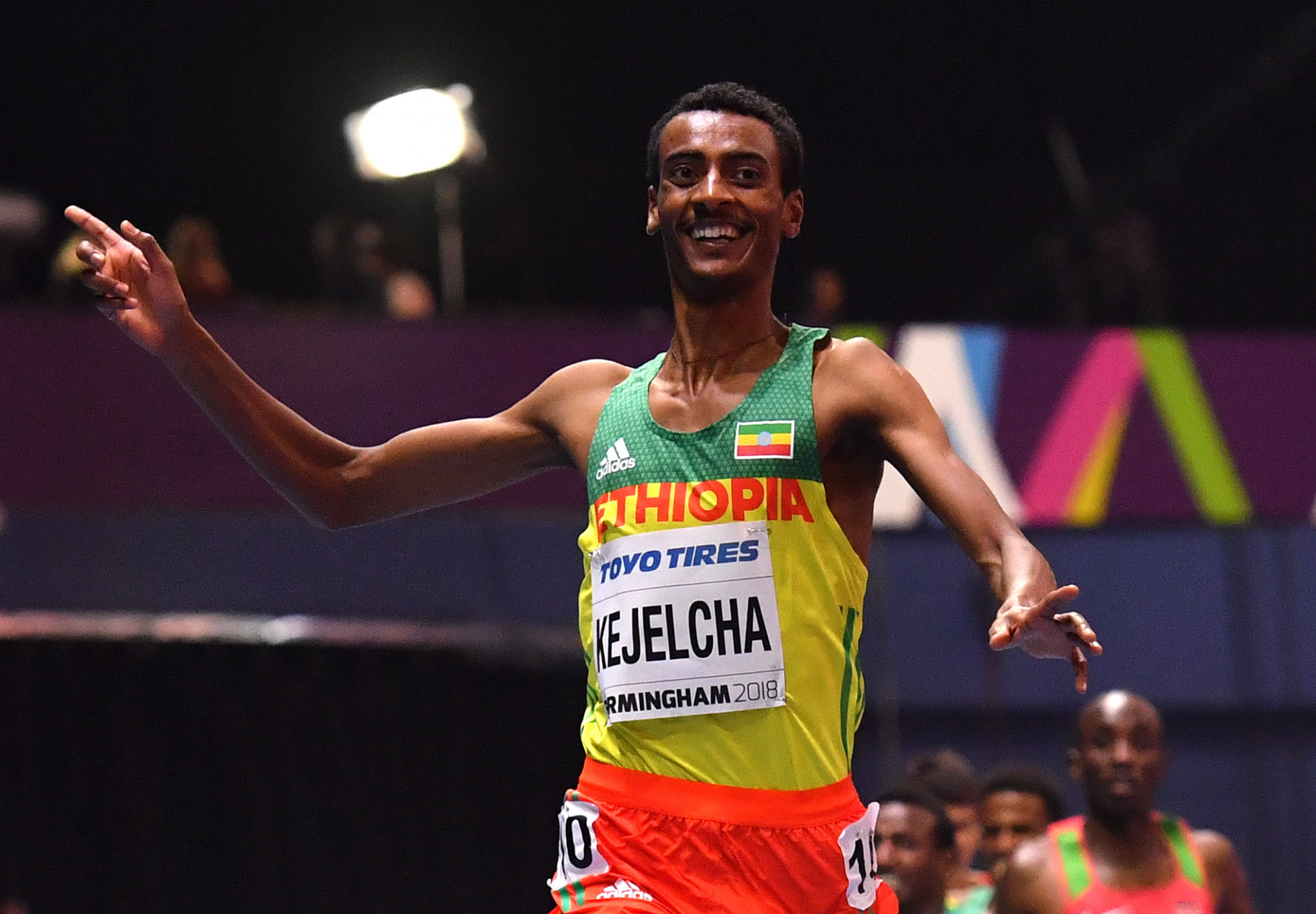 Yomif Kejelcha will go after 5,000 metres glory in Lausanne ©Getty Images