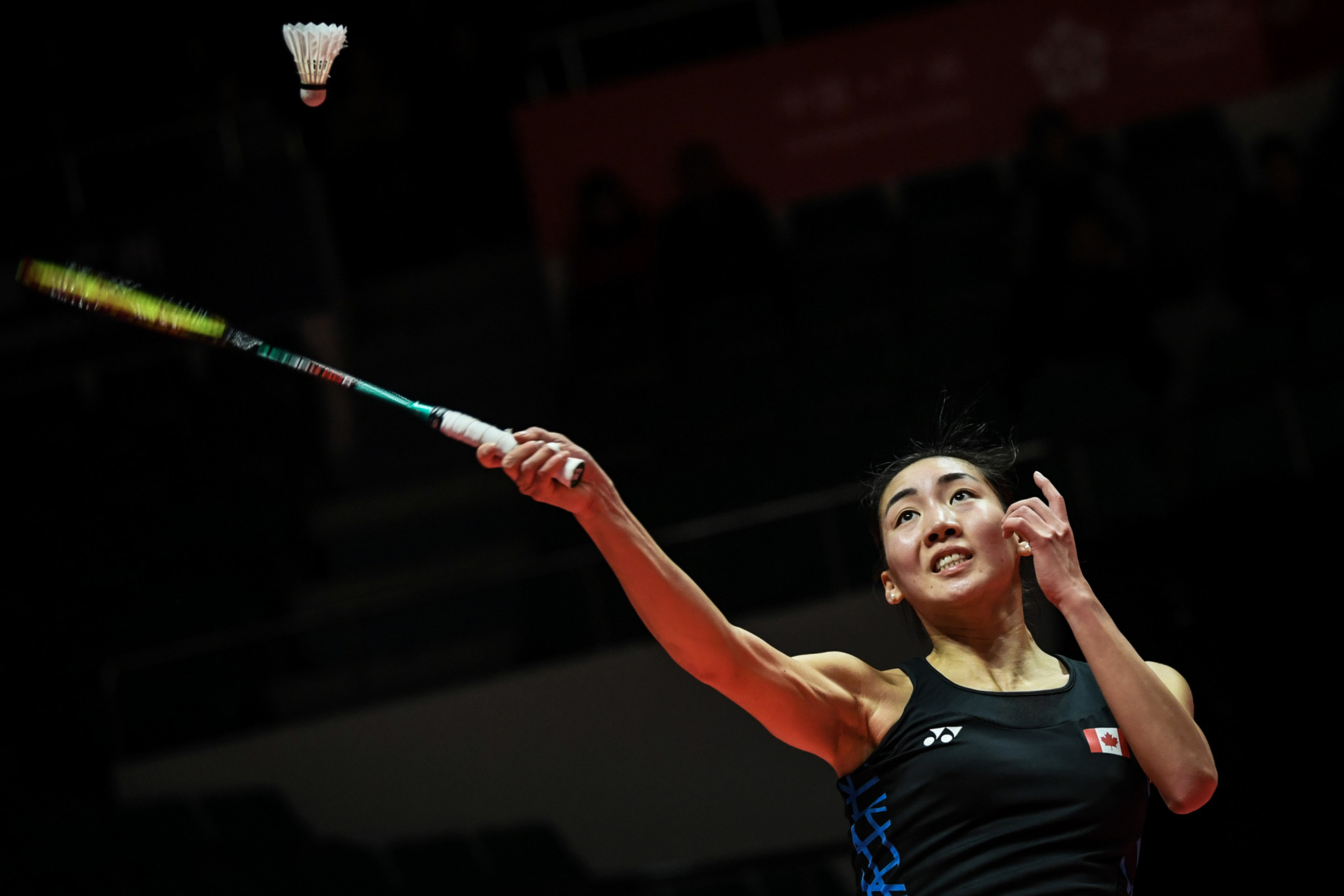 Top seed Michelle Li cruised into the quarter-finals of the women's singles at the BWF Canada Open ©Getty Images