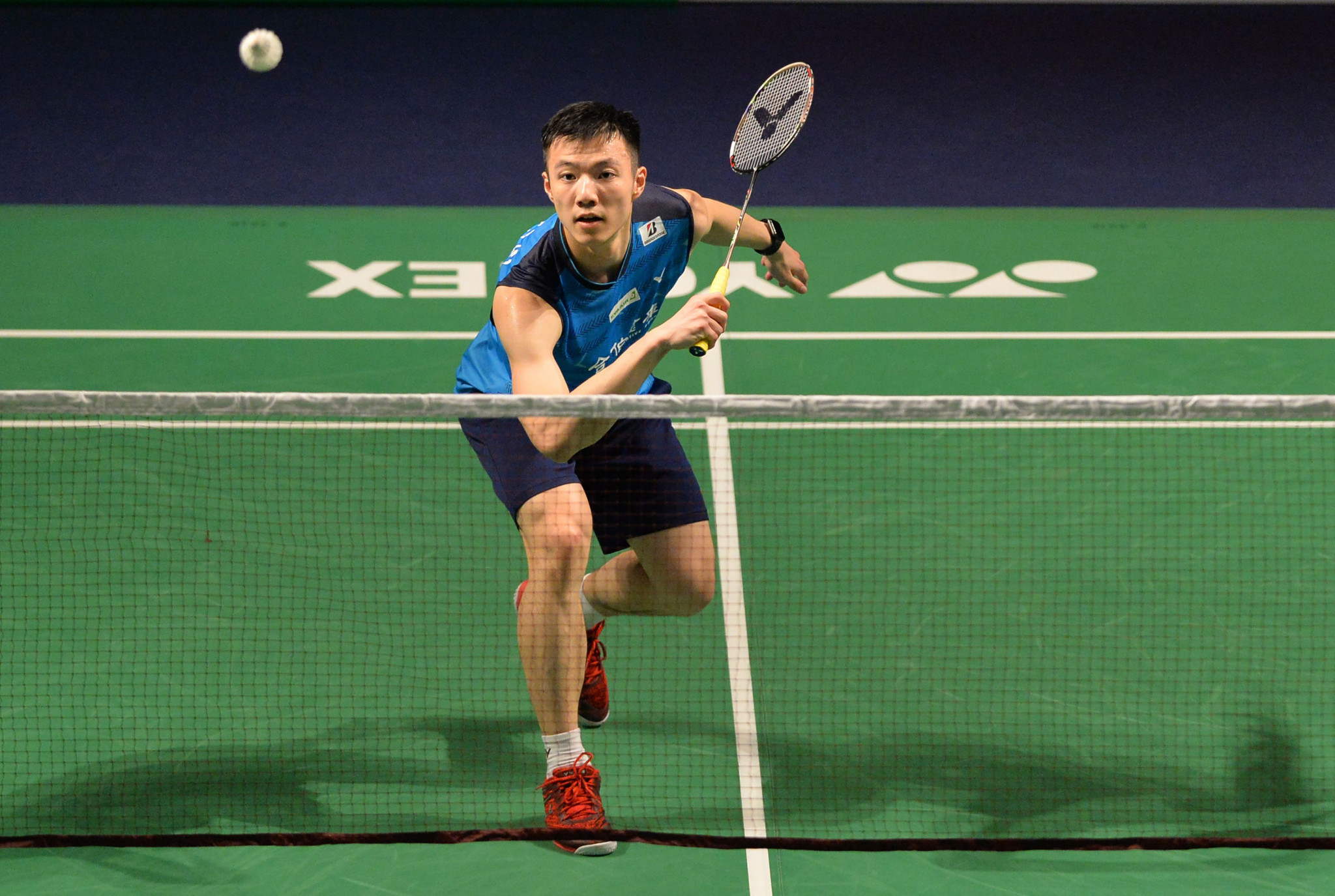 Wang Tzu-Wei of Chinese Taipei beatDenmark's Victor Svendsen to reach the quarter-finals of the men's singles ©Getty Images