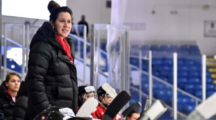 Daniela Diaz has been promoted to a new role at the Swiss Ice Hockey Federation ©IIHF