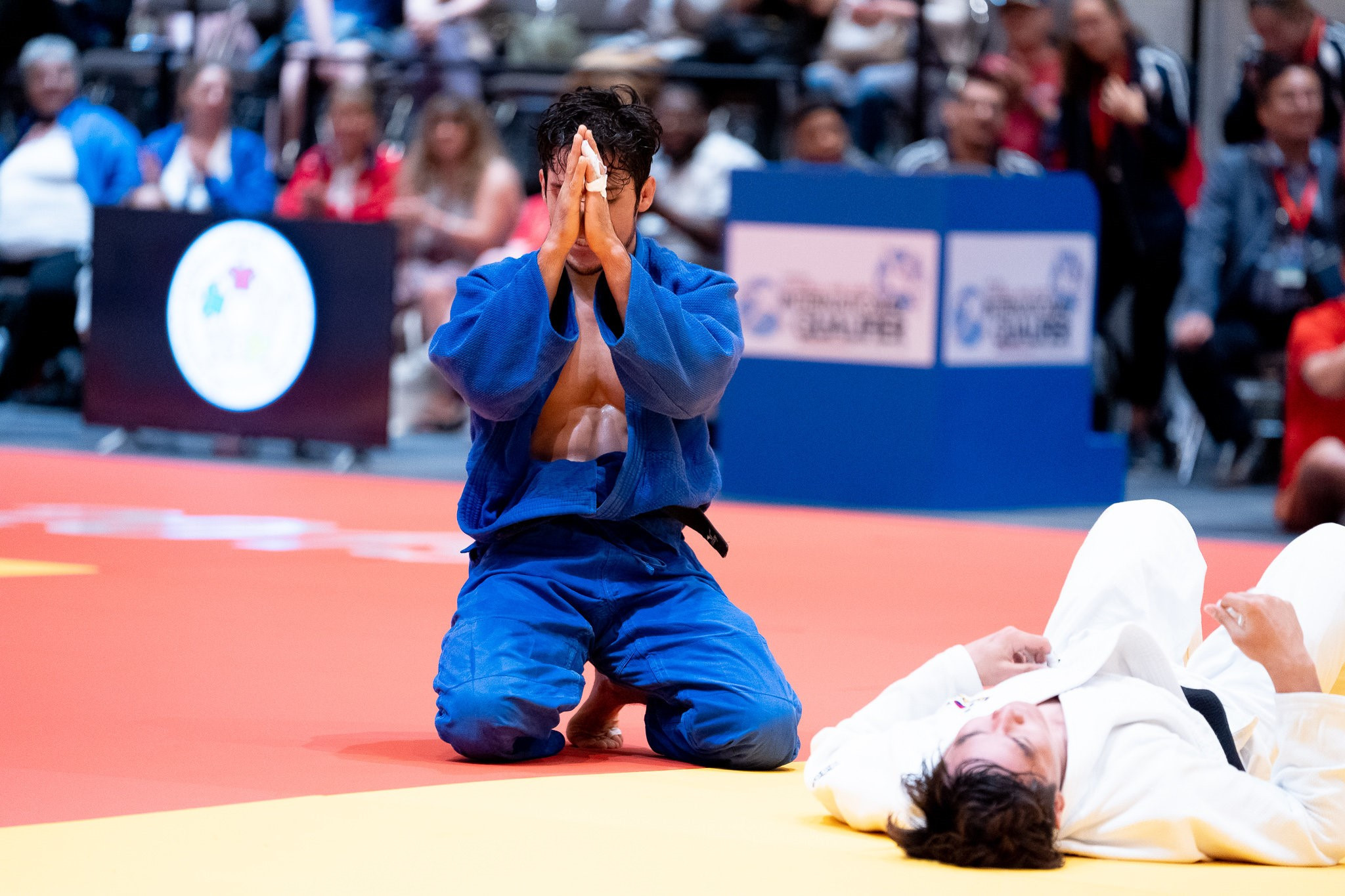 Mexico's Avila Sanchez back on top at IBSA Judo International Qualifier for Tokyo 2020
