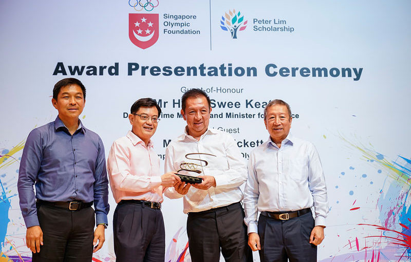 Lim commits further $10 million to support Singapore Olympic Foundation-Peter Lim Scholarship