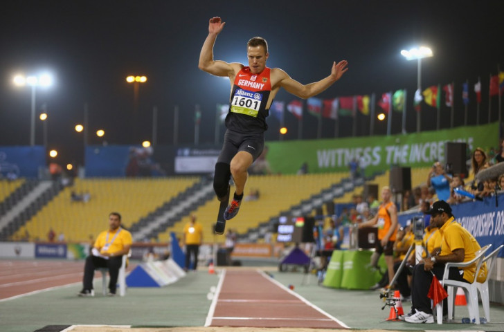 German long jumper Markus Rehm came second in the poll with 16 per cent