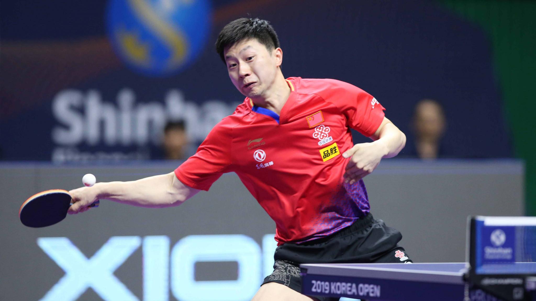Ma comes through tough test to reach ITTF Korea Open quarter-finals