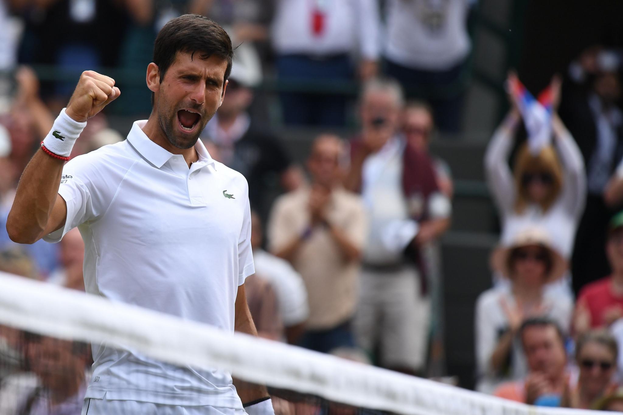 Defending champion Djokovic through to fourth round at Wimbledon