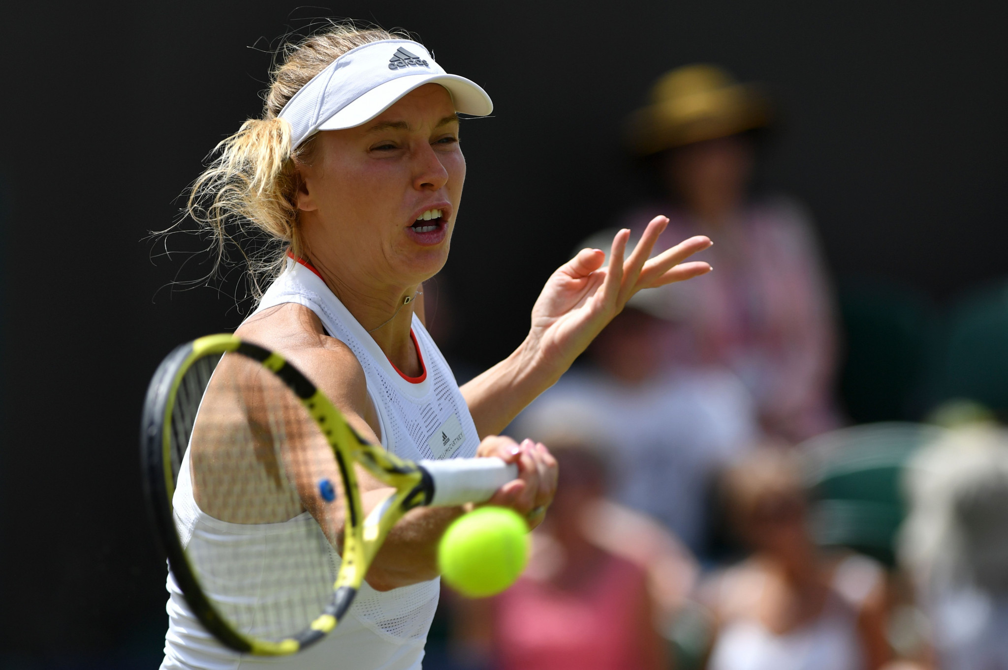Former world number one Caroline Wozniacki is out of the women's singles ©Getty Images