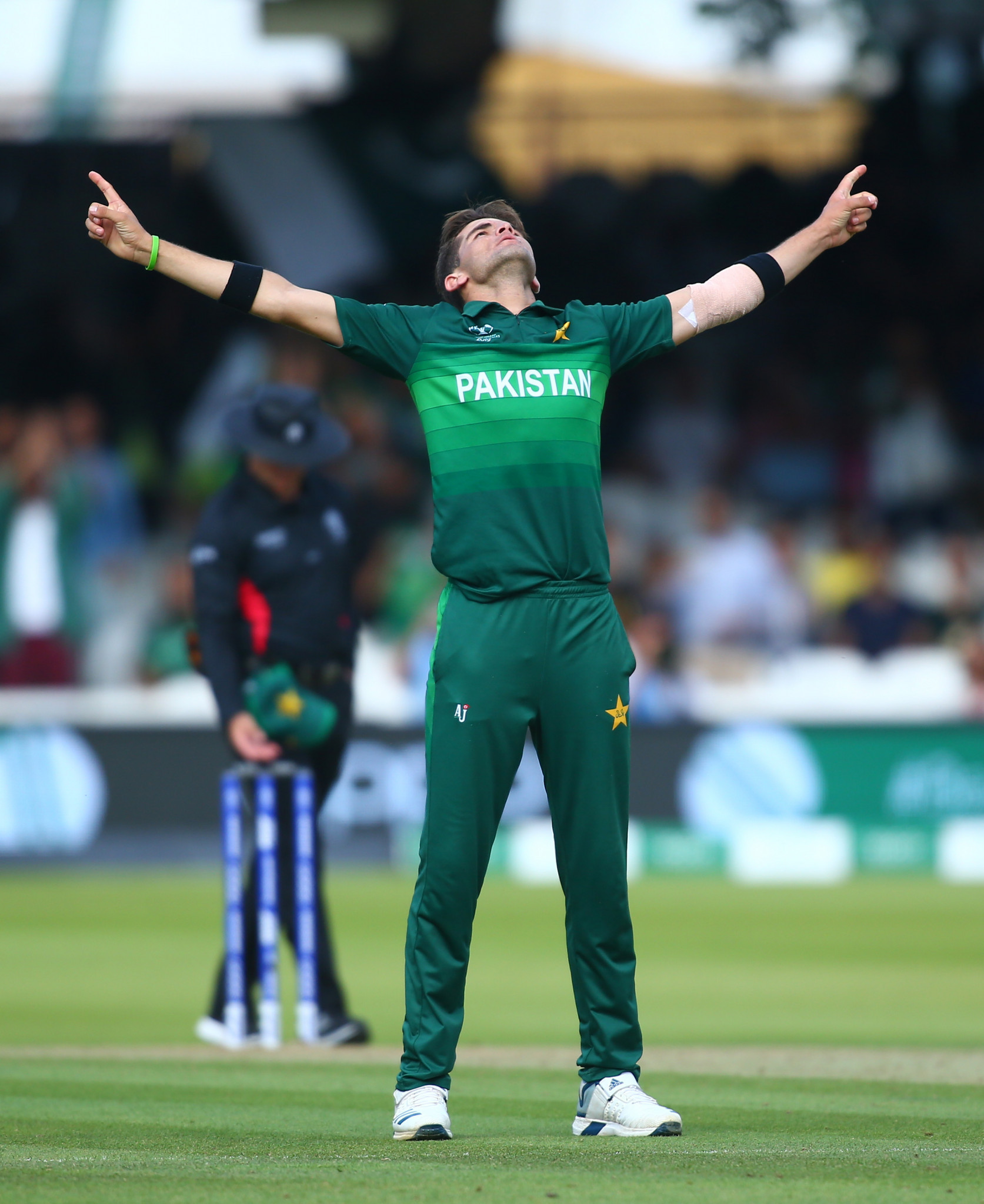 Pakistan's 19-year-old Shaheen Afridi took 6-35 – the best figures so far in the ICC Cricket World Cup – as his side bowed out with a win against Bangladesh at Lord's ©Getty Images
