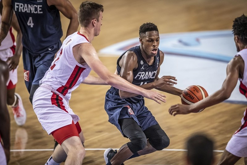 France shock defending champions Canada at FIBA Under-19 World Cup as President Muratore drops in