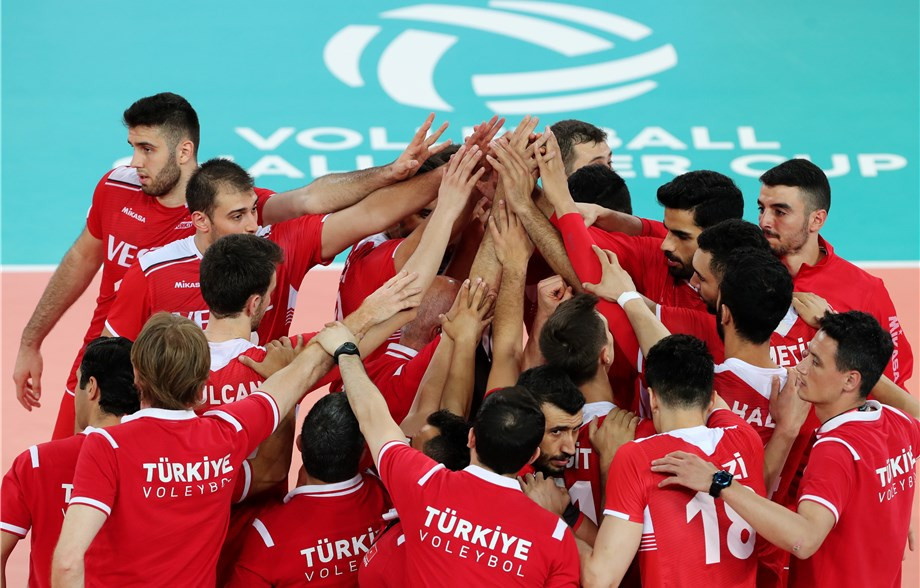 Turkey will meet Cuba in the semi-finals of the FIVB Men's Challenger Cup in Ljubljana, Slovenia ©Getty Images