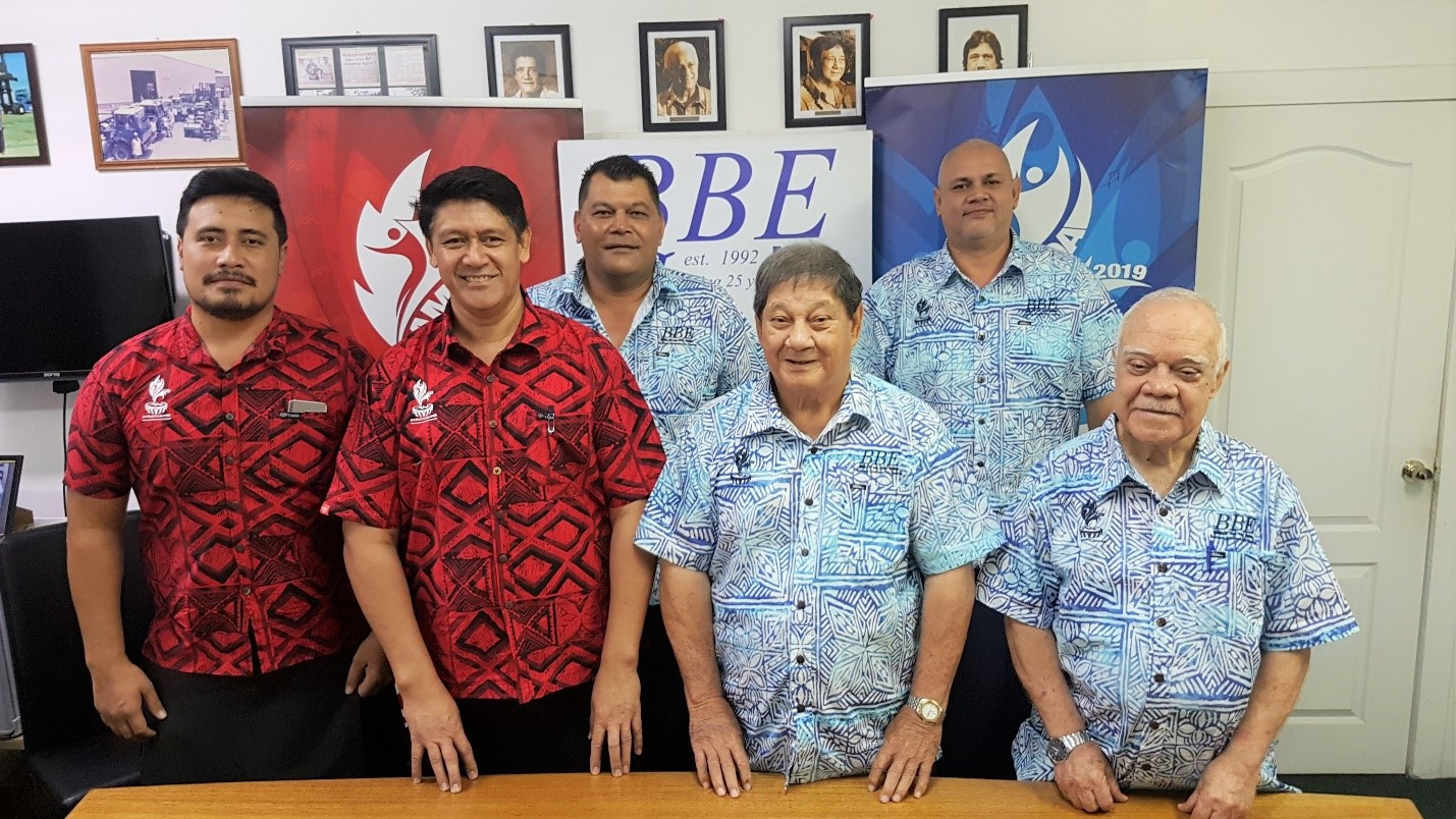 Betham Brothers Enterprises have been assisting preparations for the Pacific Games in Samoa by shipping equipment and storing it ready for the event ©Samoa 2019
