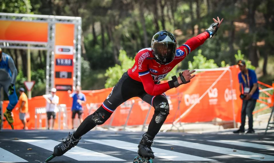 Posada and Paciolla win men's and women's downhill titles at World Roller Games in Barcelona