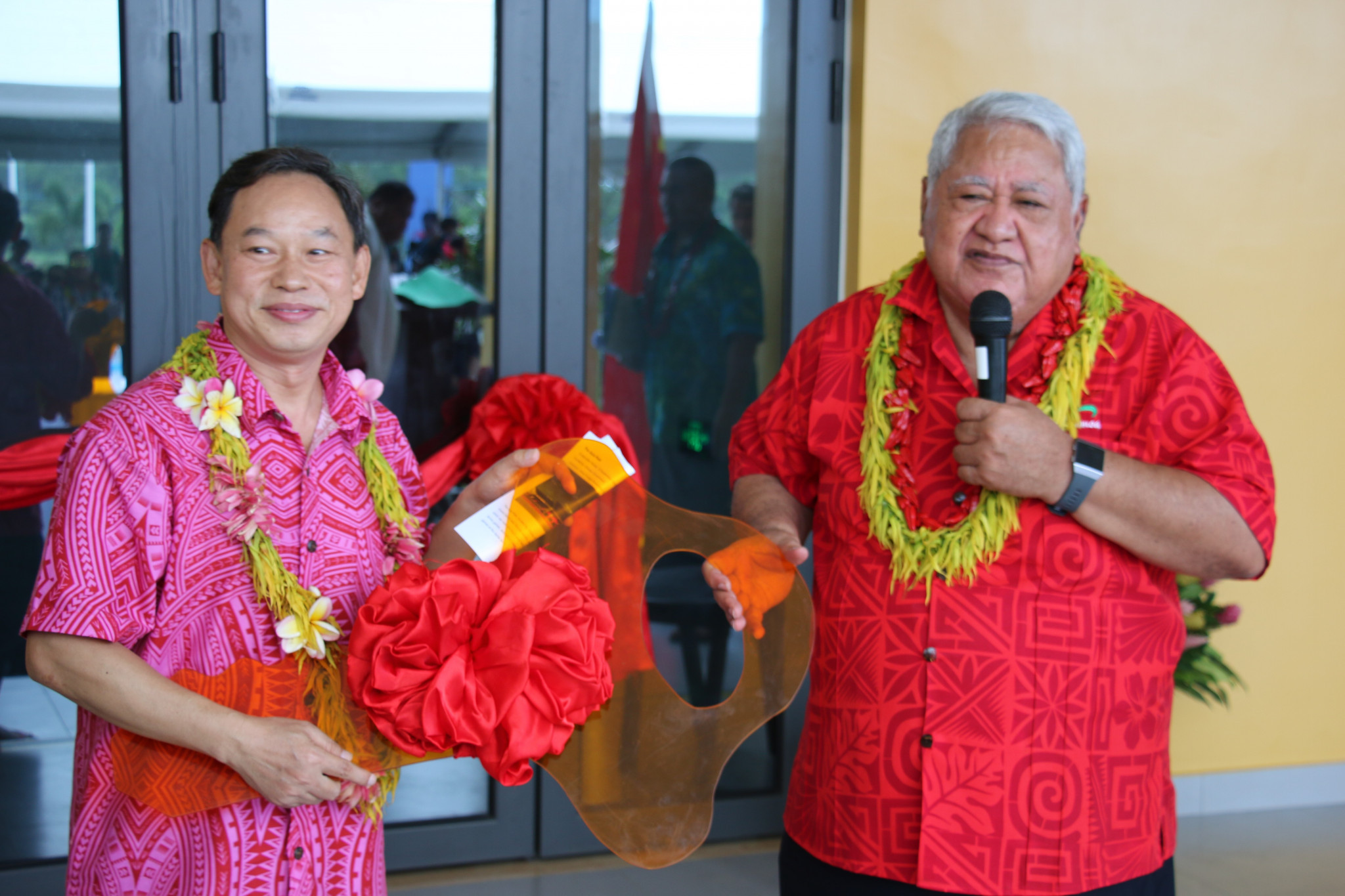 Samoa Prime Minister thanks China for funding 2019 Pacific Games venues at official handover ceremony