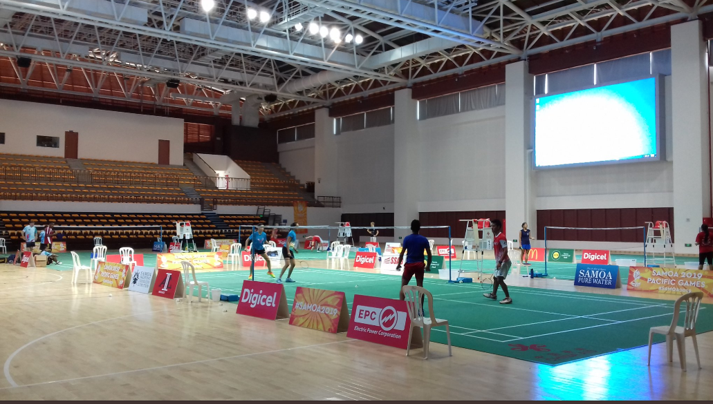 Draw revealed for mixed team badminton at Samoa 2019