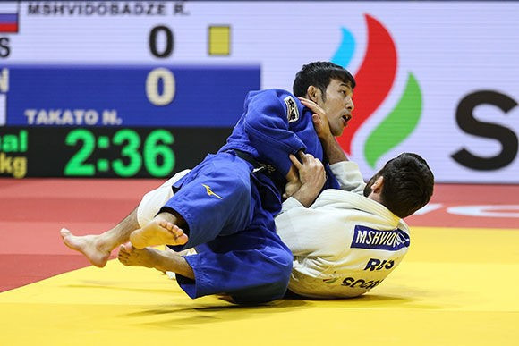 Takato wins World Championships final repeat to secure gold at IJF Grand Prix