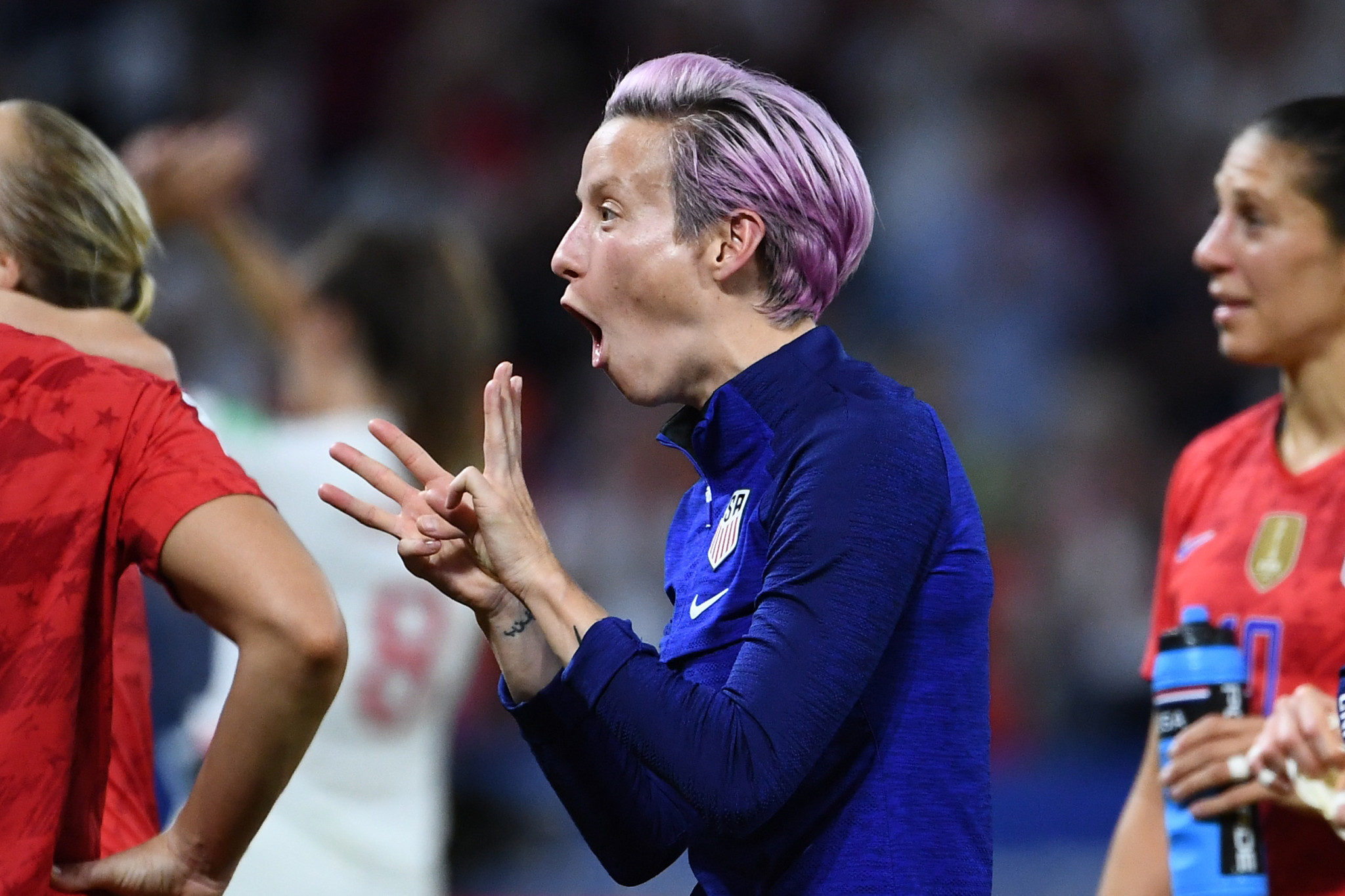 Rapinoe criticises scheduling as US prepare to face Netherlands in FIFA Women's World Cup final