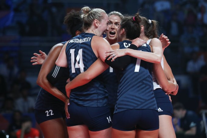 United States to face Brazil in final of FIVB Women's Nations League
