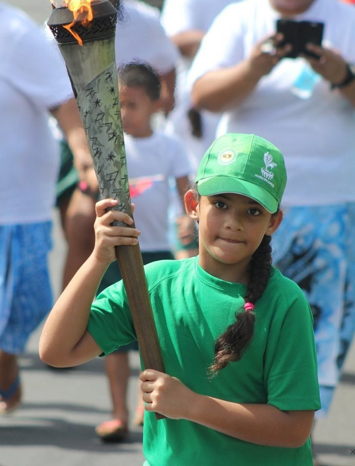 A Torch Relay has been taking place in the run-up to the Opening Ceremony of the Pacific Games in Samoa ©Samoa 2019