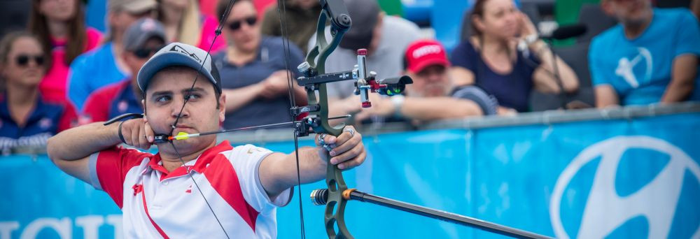 Cagiran shocks Schloesser to claim men's compound gold at Archery World Cup