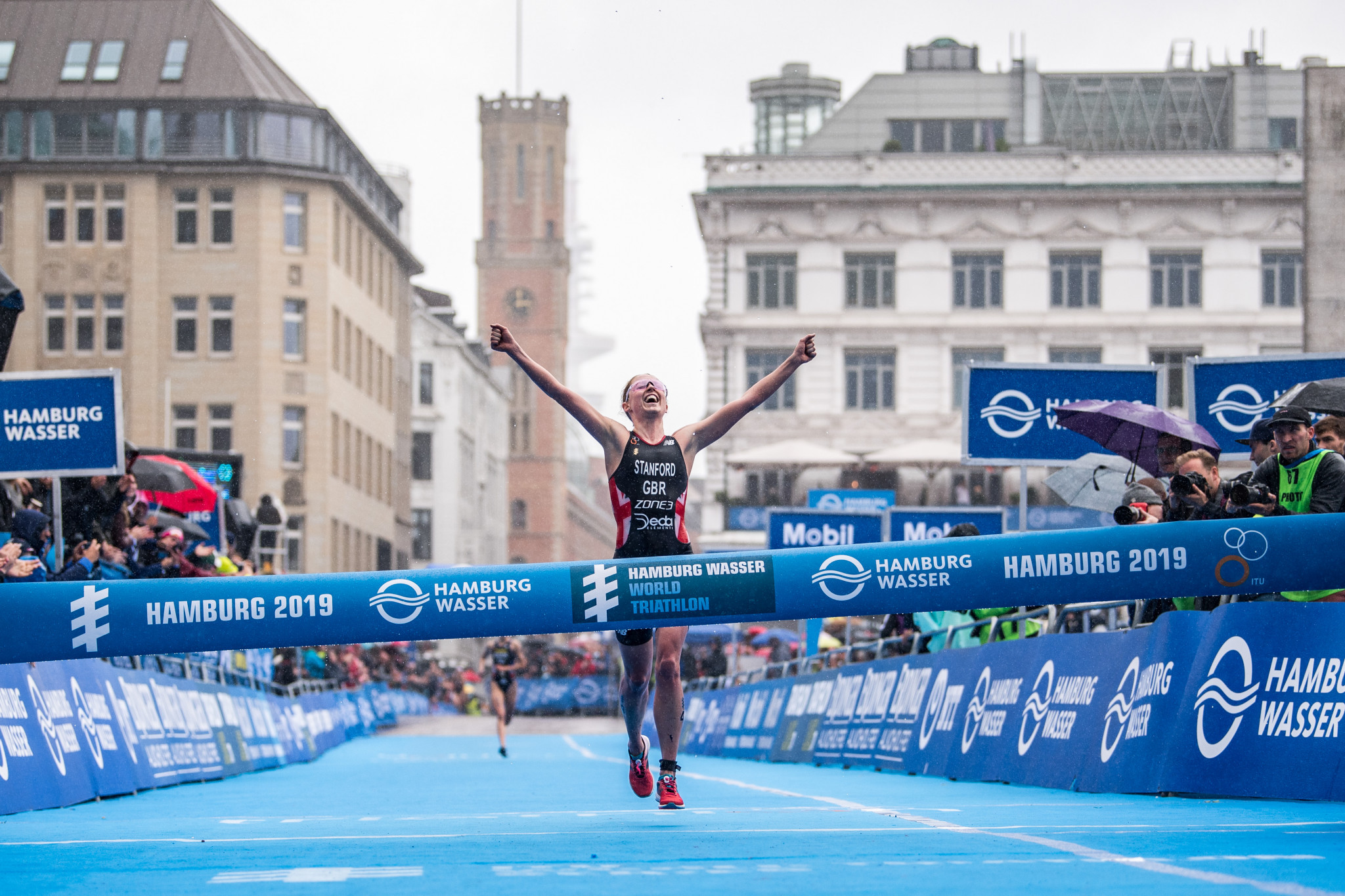 Zaferes retains overall lead as Stanford takes victory at World Triathlon Series