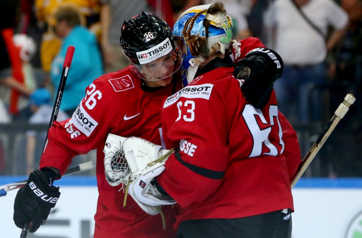 Switzerland and Belarus gain contrasting wins at Ice Hockey World Championships