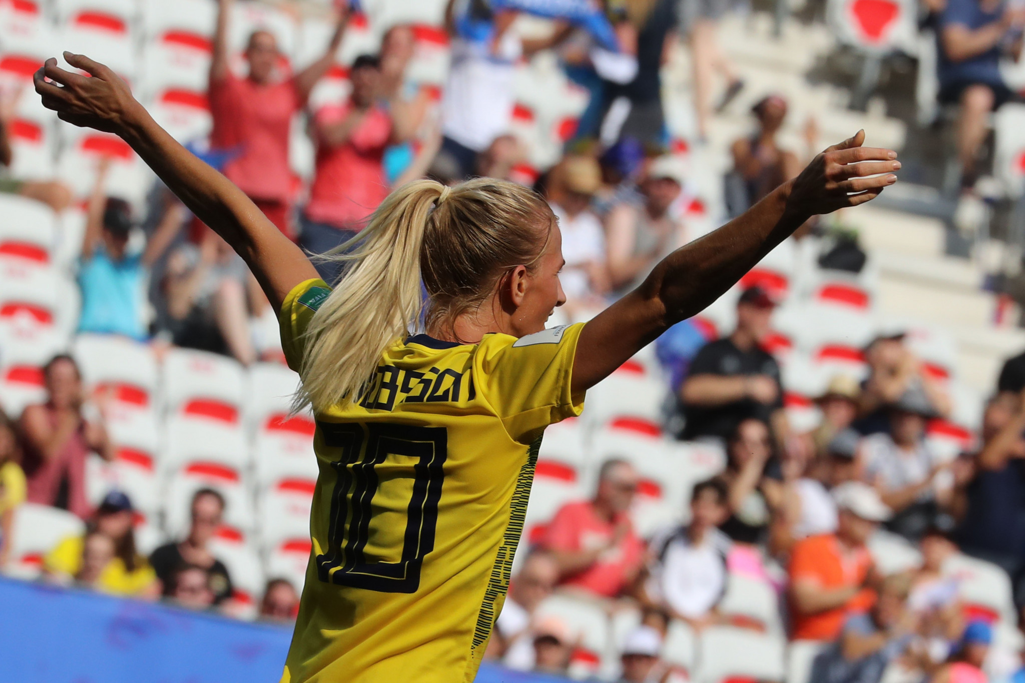 Sweden beat England to finish third at FIFA Women's World Cup