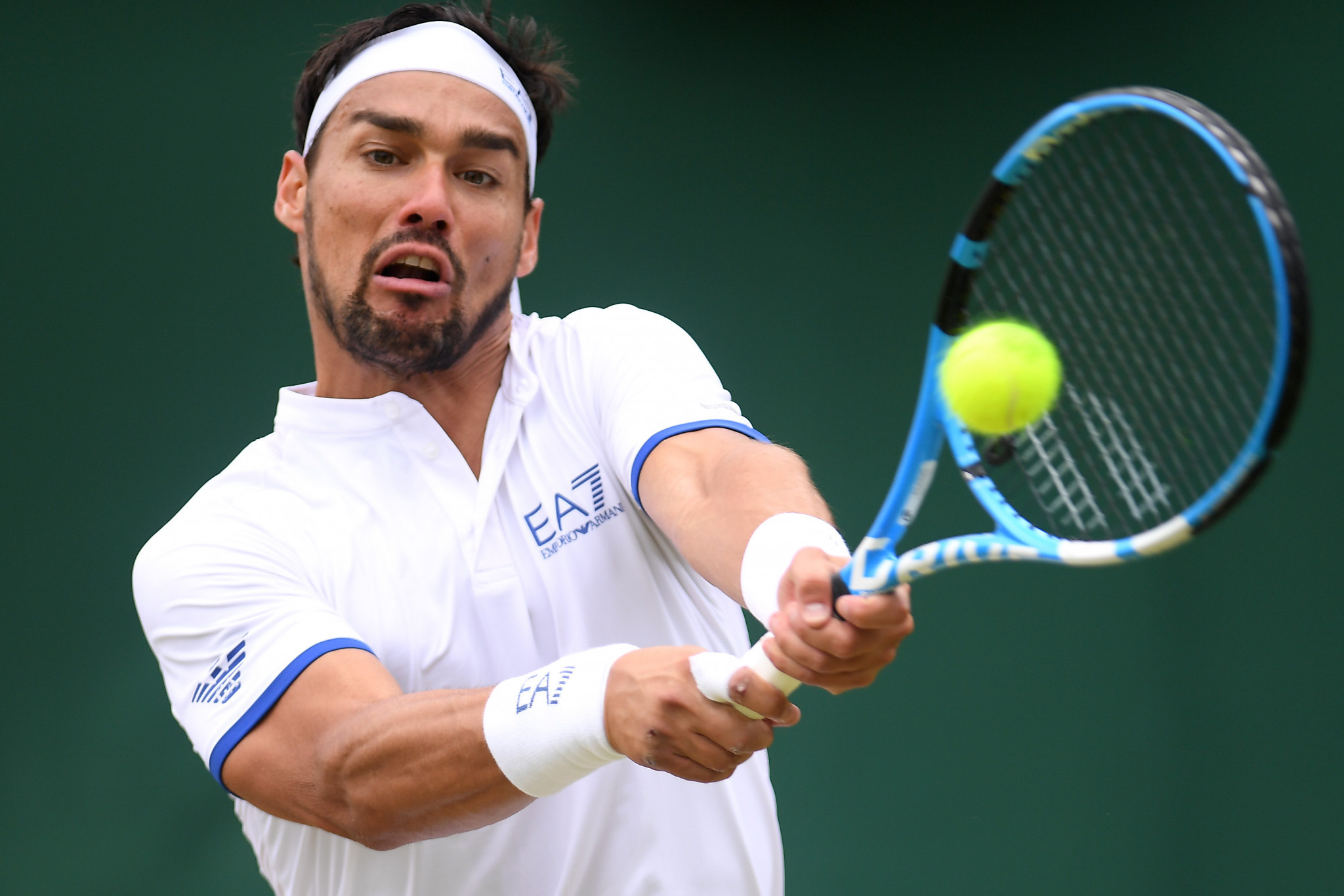 Fabio Fognini apologised for a comment he made during his defeat to Tennys Sandgren ©Getty Images