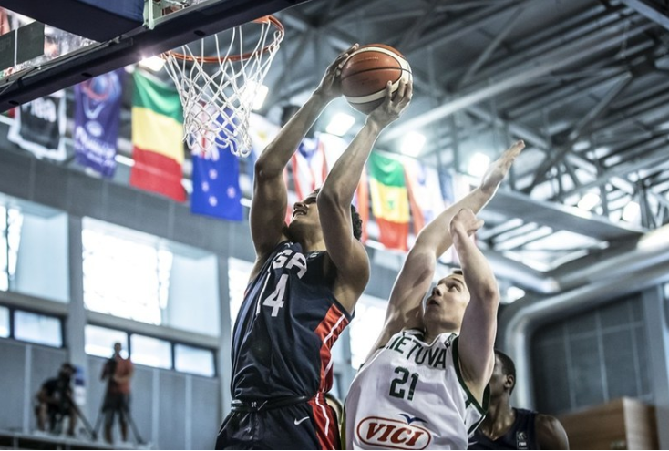 United States will provide the opposition for Mali in the final ©FIBA
