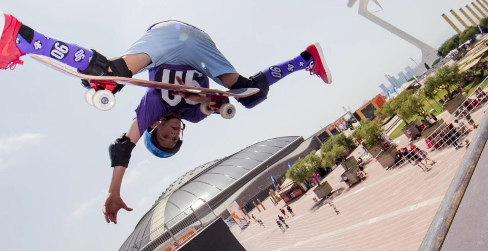 Golds were won in the men's and women's vert skateboarding on the penultimate day of the World Roller Games in Barcelona ©World Skate