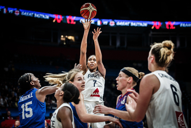 France, who have lost the past three finals of the FIBA Women's EuroBasket, beat Britain in tonight's semi-final and will now meet defending champions Spain ©FIBA