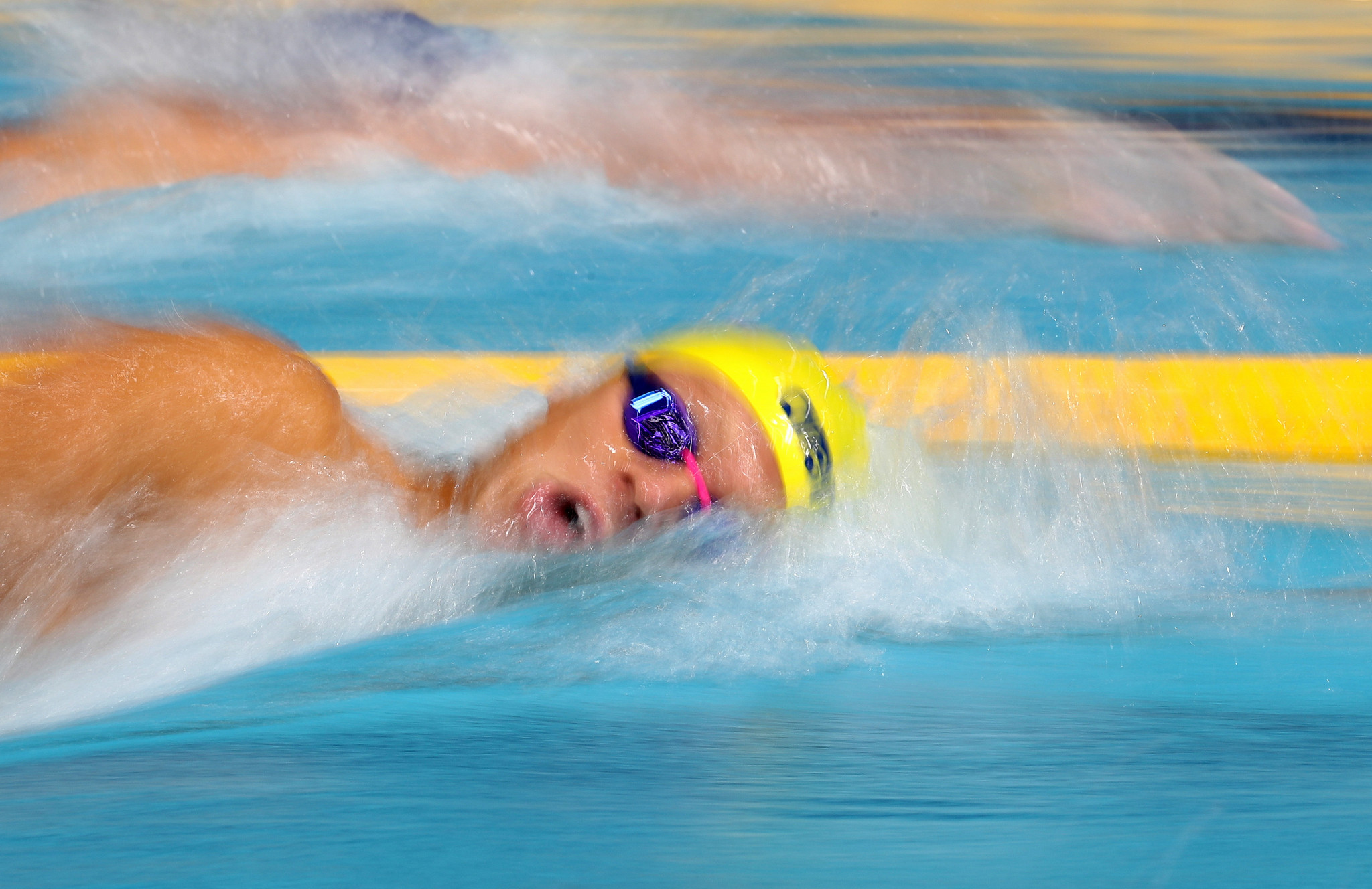 Johansson plays down Olympic chances after winning long-distance swimming gold in Naples