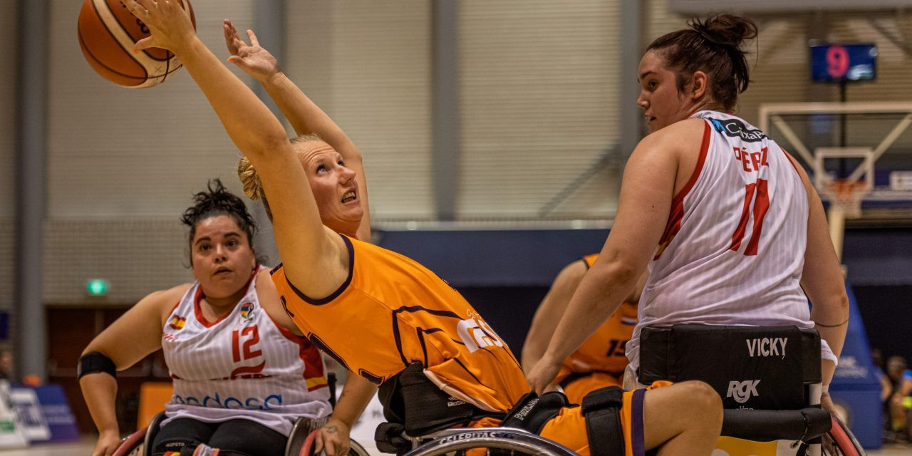 The Netherlands, world and Olympic champions, beat Spain to earn their 15th consecutive final in the IWBF European Championship Division A in Rotterdam, where they will meet first-time finalists Britain ©IWBF