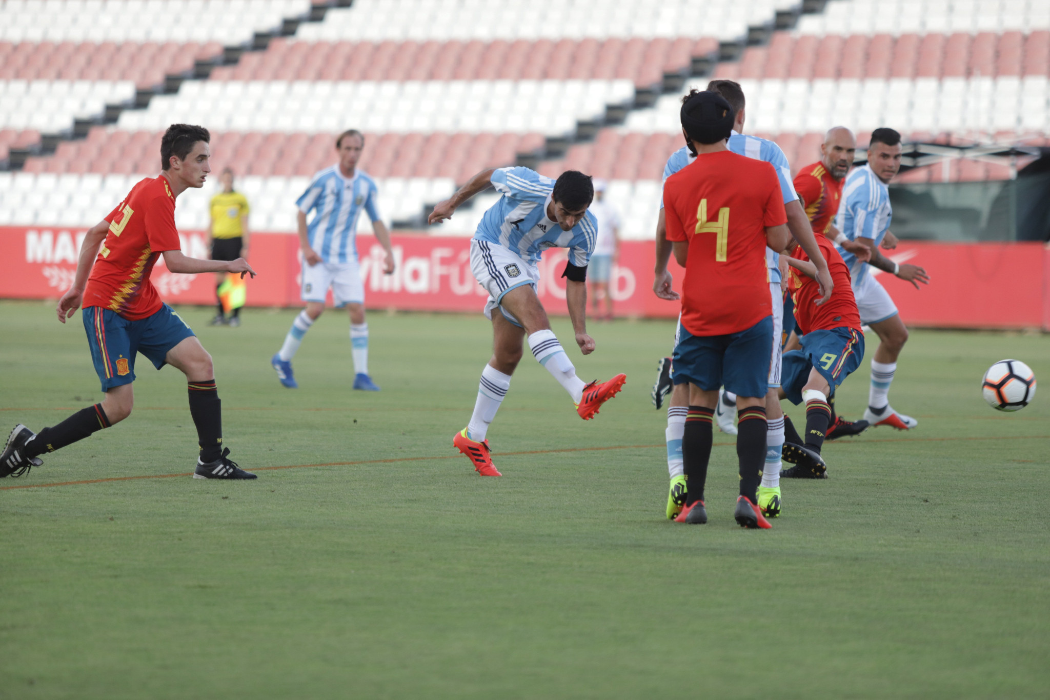Argentina thrash hosts Spain in opening match of IFCPF World Cup