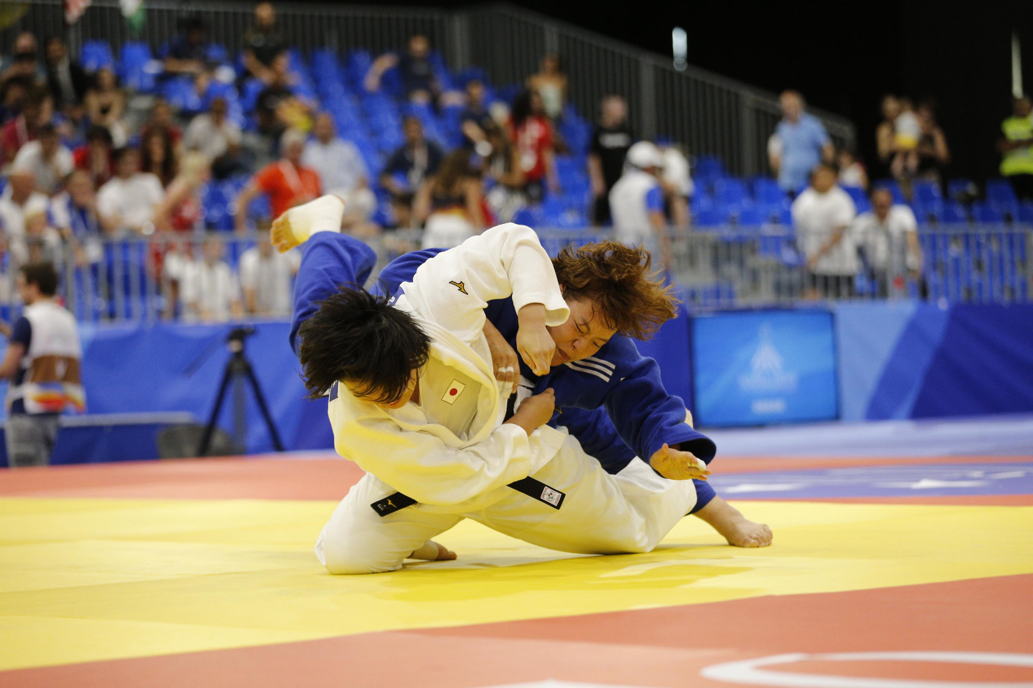 Japan's Ranto Katsura continued her country's dominance in judo, winning the women's under-52kg ©Naples 2019