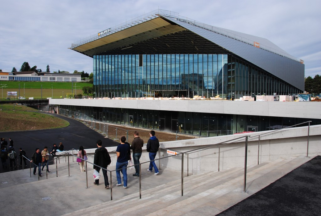 The SwissTech Convention Center is considered one possible location for the SportAccord Convention ©Wikipedia