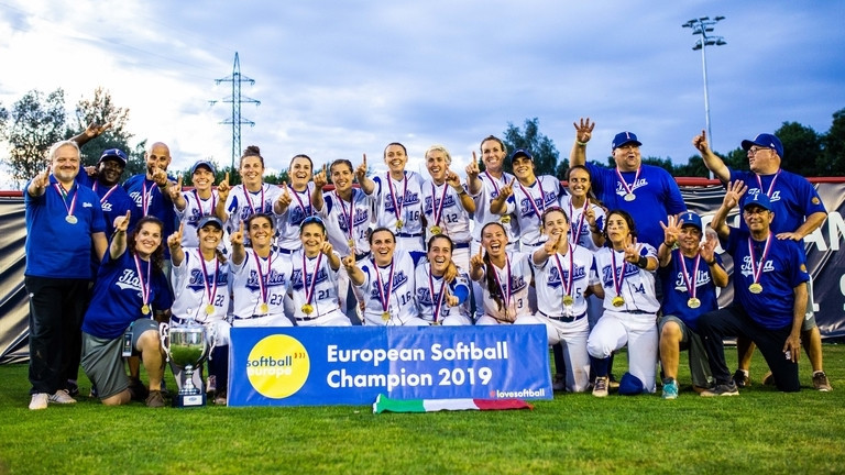 Italy defeat Dutch to win 11th Women's European Softball Championships title