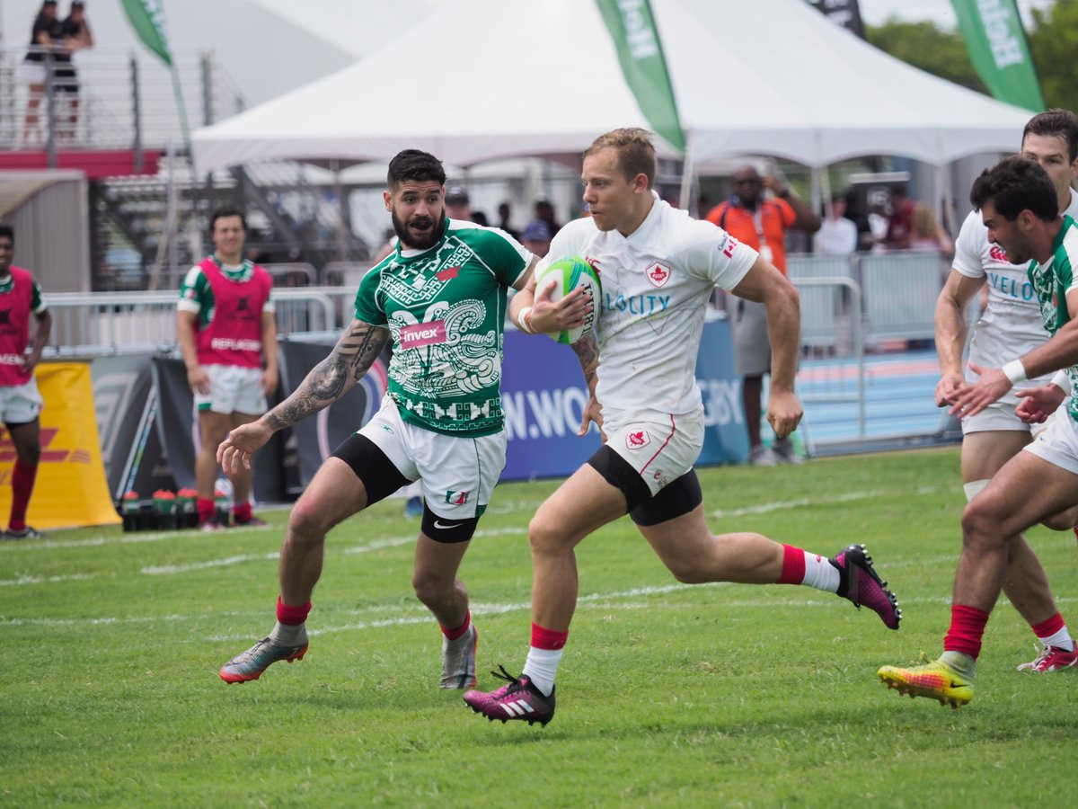 Canada and Jamaica make strong starts to Tokyo 2020 bids at Rugby Americas North Sevens