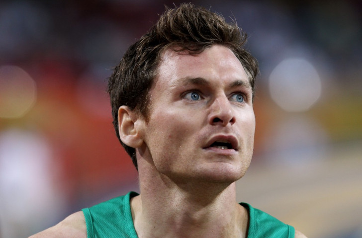 David Gillick, Ireland's double European indoor 400m champion, has voiced the question now being asked by so many of the world's athletes: 'Who ele is corrupt?'©Getty Images