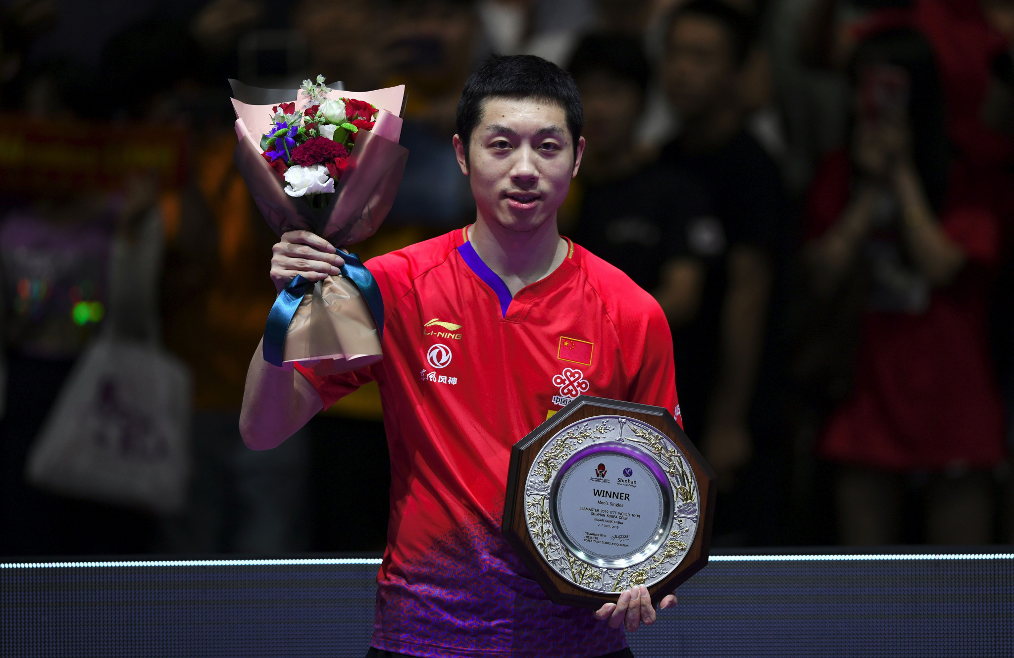 Xu shines again to win fourth men's title at ITTF Korean Open