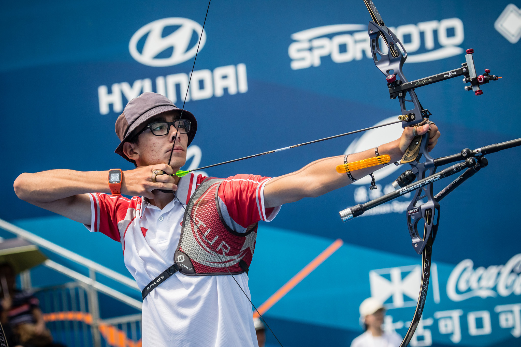 Gazoz claims individual and team honours at Archery World Cup in Berlin