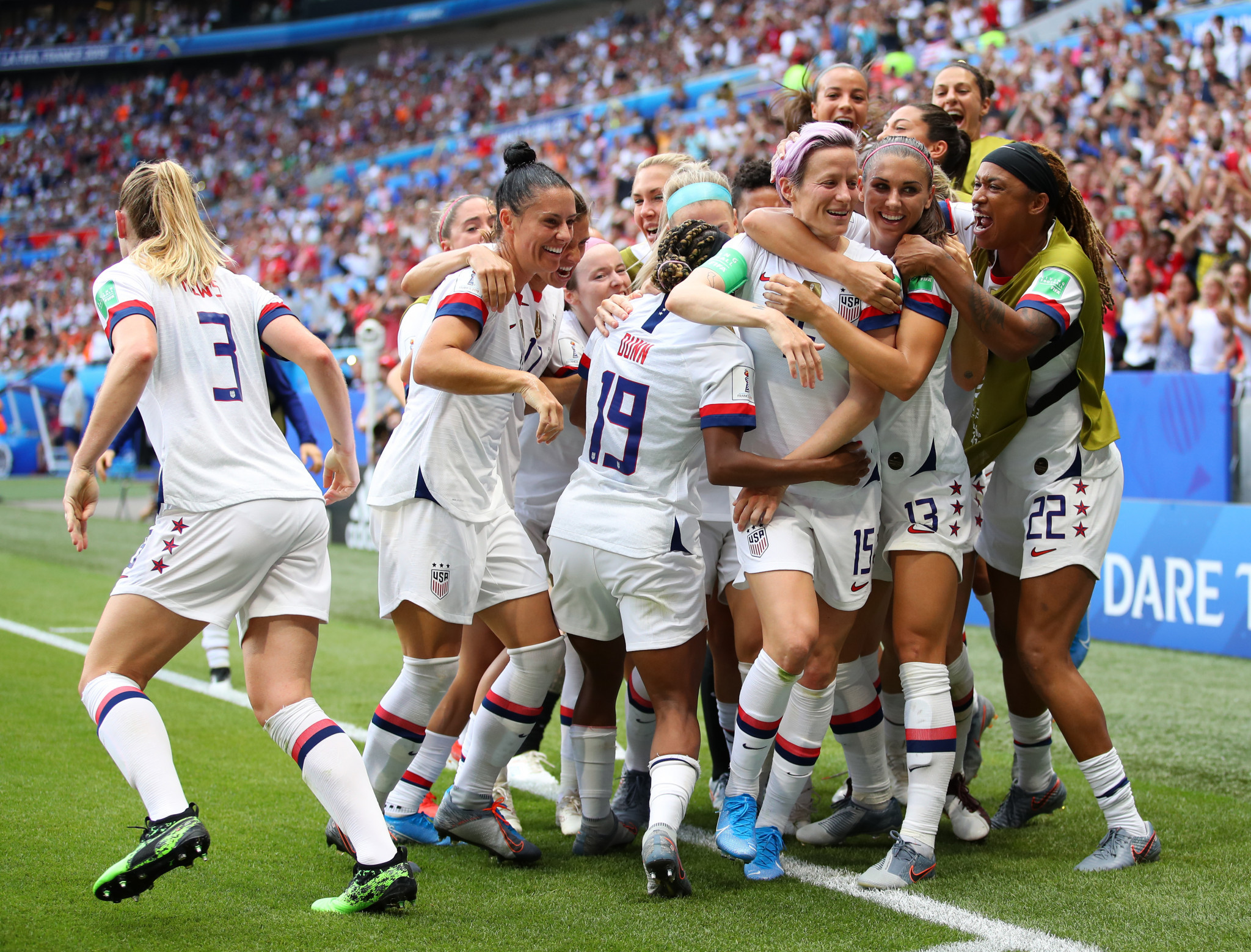 America are the current women's world champions after winning the 2019 World Cup in France ©Getty Images